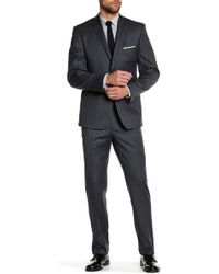 JB Britches - Notch Lapel Two Button Solid Wool Suit - Lyst