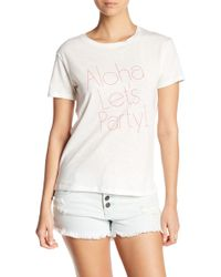 Billabong - Aloha Party Graphic Tee - Lyst