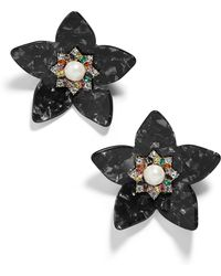 BaubleBar - Amariah Flower Earrings - Lyst