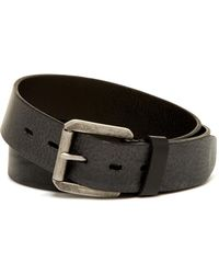 James Campbell - Roller Buckle Leather Belt - Lyst