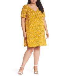 Glamorous - Floral Swing Shirtdress (plus Shirt) - Lyst
