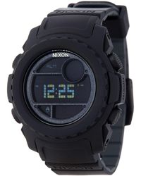 Nixon - Men's Super Unit Digital Watch - Lyst