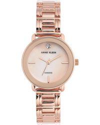Anne Klein - Women's Diamond Bracelet Watch, 32mm - 0.005 Ctw - Lyst