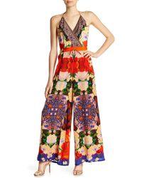 Shahida Parides - Silk Palazzo Jumpsuit - Lyst