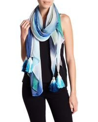 Vince Camuto - Colorblock Ombre Scarf - Lyst