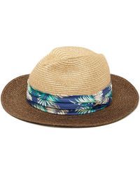 73059d7508218 Tommy Bahama - Fine Braid Safari Hat - Lyst
