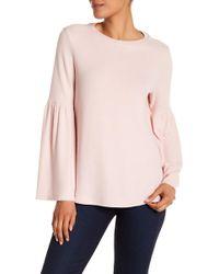 Philosophy Apparel - Long Bell Sleeve Sweater - Lyst