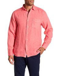Tommy Bahama - Seaspray Breezer Linen Shirt - Lyst