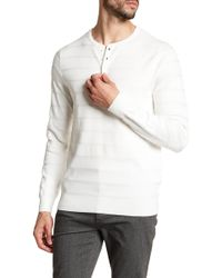 Vince Camuto - Ribbed Knit Sweater - Lyst
