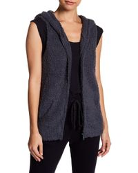 Barefoot Dreams - Cozy Chic Sleeveless Hoodie - Lyst