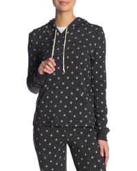Alternative Apparel - Print Fleece Hooded Pullover - Lyst