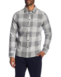 Native Youth - Brentwood Check Print Trim Fit Shirt - Lyst