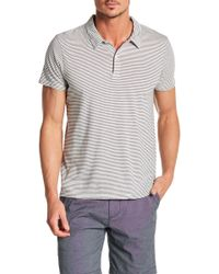 Save Khaki - Pencil Stripe Polo - Lyst