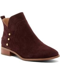 Franco Sarto | Ruby Post Button Boot | Lyst
