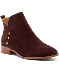 Franco Sarto - Ruby Post Button Boot - Lyst
