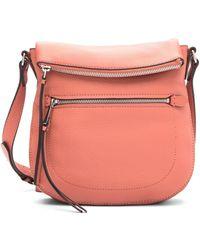 59abb23452 Vince Camuto - Tala Leather Crossbody Bag - Lyst
