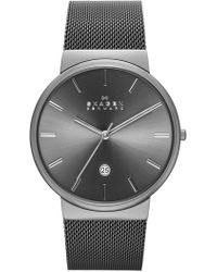 Skagen   Men's Ancher Mesh Bracelet Watch, 40mm   Lyst