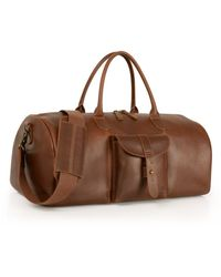 Timberland Calexico Leather Duffel Bag Lyst