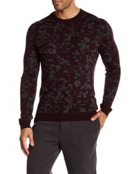Ted Baker - Interest Jacquard Crew Neck - Lyst