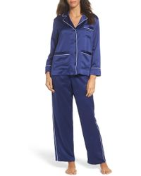 Lauren by Ralph Lauren - Satin Pyjamas - Lyst