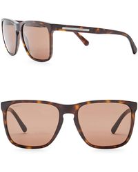 Giorgio Armani - Men's Wayfarer 55mm Acetate Frame Sunglasses - Lyst