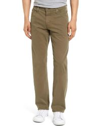 AG Jeans - Graduate Tailored Leg Trousers - Lyst