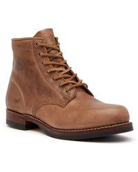 Frye | John Addison Lace-up Boot | Lyst