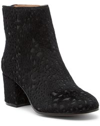 Bettye Muller - Sibyl Burnout Faux Calf Hair Boot - Lyst