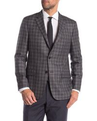 Hickey Freeman - Plaid Classic Fit Wool & Cashmere Sportcoat - Lyst