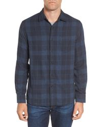 Grayers - Helsby Double Cloth Plaid Sport Shirt - Lyst