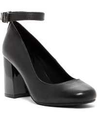 Kenneth Cole Reaction - Happy-ness Leather Ankle Strap Pump - Lyst
