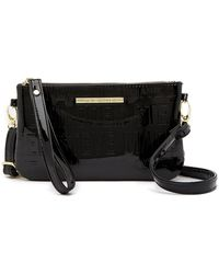 Steve Madden | Embossed Logo Charging Crossbody Bag | Lyst