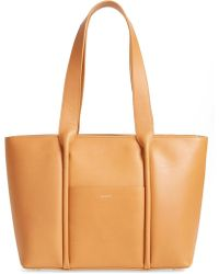 Skagen - Lisabet Leather Tote - Lyst