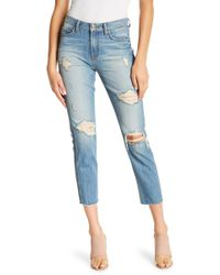 Genetic Denim - Birkin Distressed Skinny Jeans - Lyst