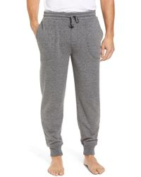 Nordstrom - French Terry Pajama Pants - Lyst