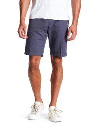 Good Man Brand - Micro Pattern Jacquard Chino Shorts - Lyst
