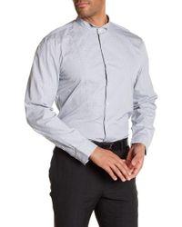 John Varvatos - Wingtip Long Sleeve Slim Fit Shirt - Lyst