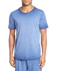Daniel Buchler - Vintage Wash Cotton T-shirt - Lyst