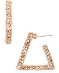 Loren Hope - Bailey Hoop Earrings - Lyst