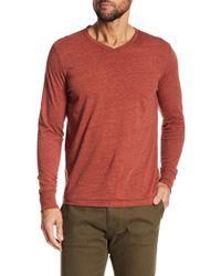 Jeremiah - Black Slub Jersey Long Sleeve Shirt - Lyst