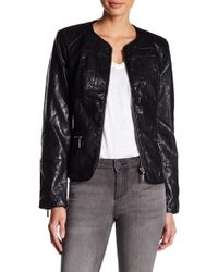 Kut From The Kloth - Brandy Moto Leather Jacket - Lyst