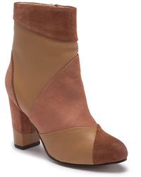 Seychelles - Skulk Ankle Leather & Suede Bootie - Lyst