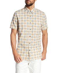 Jeremiah - Giles Print Shirt - Lyst
