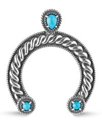 Relios - Sterling Silver Turquoise Naja Pendant - Lyst