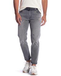 Current/Elliott - Distressed Slim Fit Jeans - Lyst