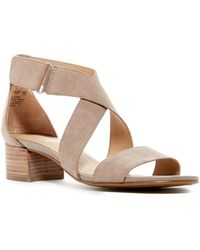 Naturalizer - Adele Block Heel Sandal - Wide Width Available - Lyst
