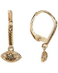 Judith Jack - Sterling Silver Swarovski Marcasite & Crystal Dangle Earrings - Lyst