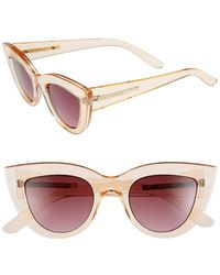 BCBGMAXAZRIA - Cat Eye Sunglasses - Lyst