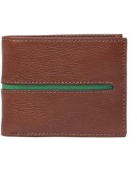 Fossil - James Leather Bifold Wallet - Lyst