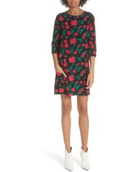 Equipment - Aubrey Floral Shift Dress - Lyst